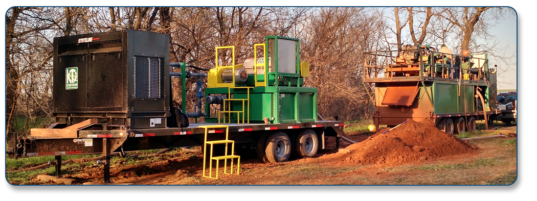 Millennium Energy Packaged Mud Recycling Systems